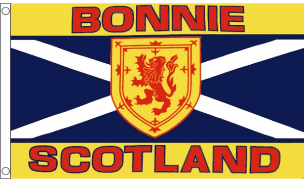 Bonnie Scotland Flag