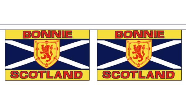 Bonnie Scotland Horizontal Bunting
