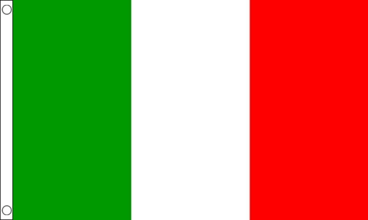 Italian Flag: Italy NYLON Flag (Medium)