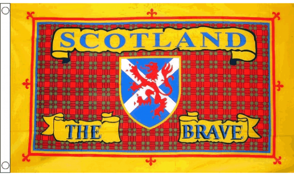 Scotland the Brave Flag