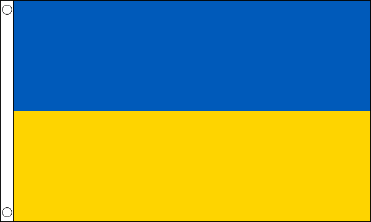 Ukraine Flag (Small) – MrFlag