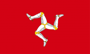 Isle of Man Outdoor Quality Flag