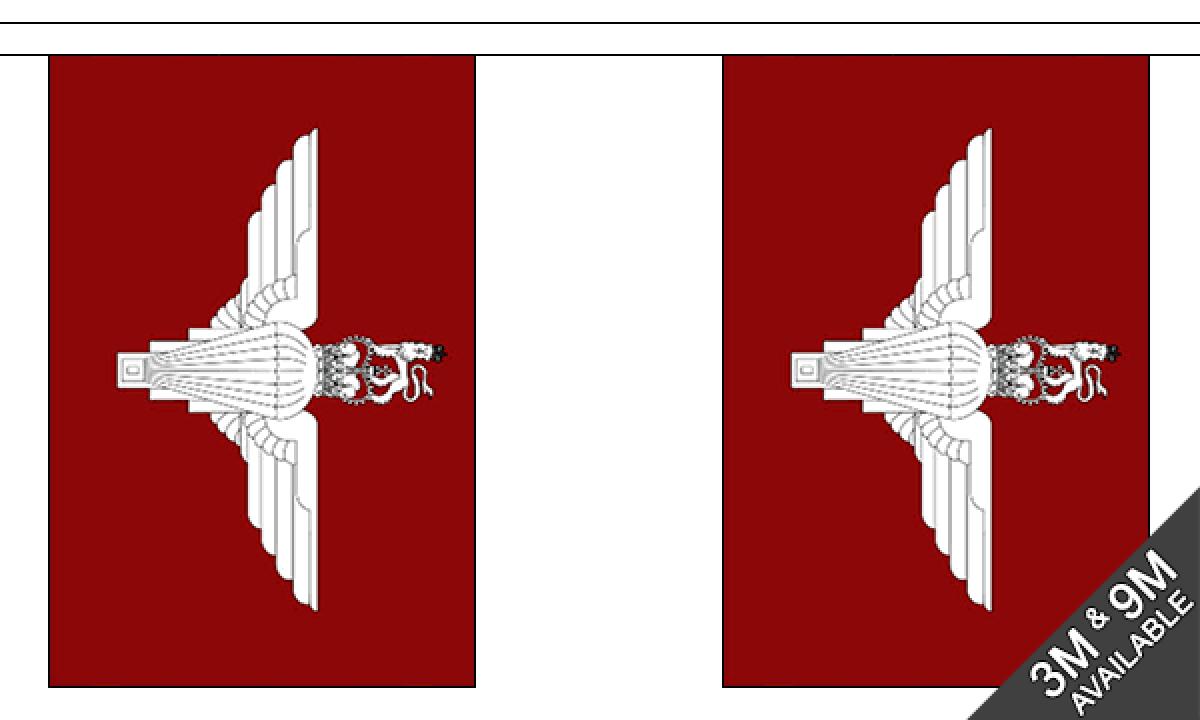 30 Flags Royal Gurkhas 9m Bunting Military Banner