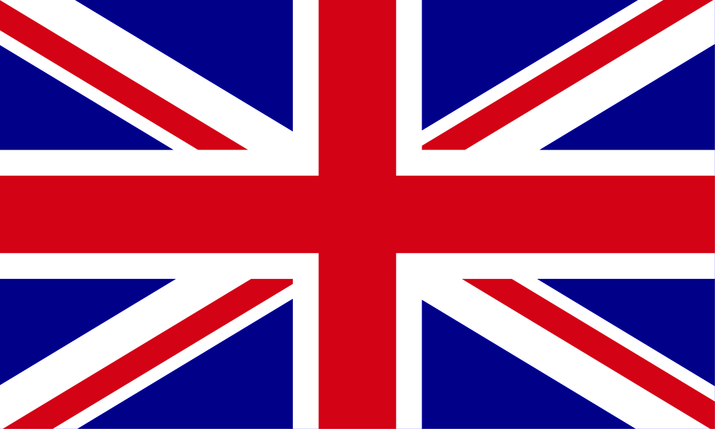 Union Jack Flag red white and blue united kingdom