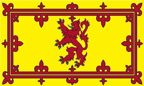 Scotland Rampant Lion Flag 5x3ft