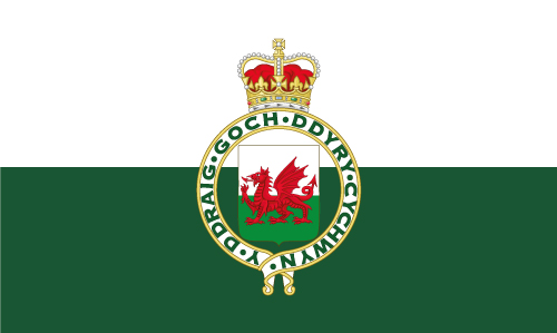 Wales 1953-1959 Flag