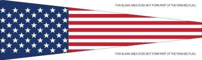 National Flag Vimpel