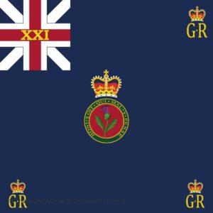 21st Regiment of Foot Regimental Colour
