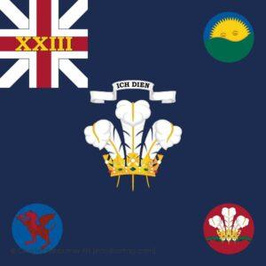 23rd Regiment of Foot Regimental Colour
