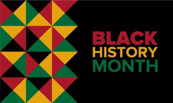 Black History Month Flag