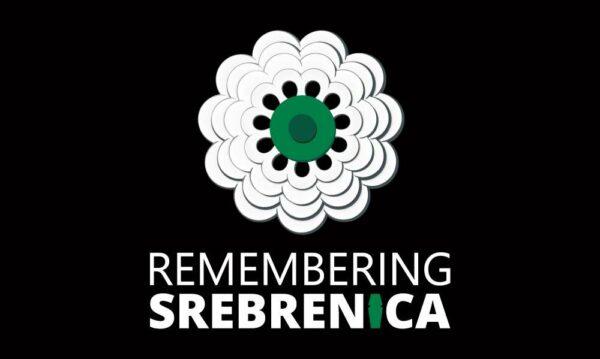 Remembering Srebrenica Flag