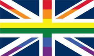 UK Pride Jack 1 Flag