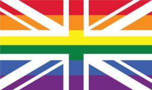 UK Pride Jack 2 Flag