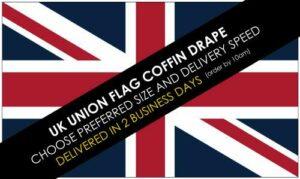 UK Union Flag Coffin