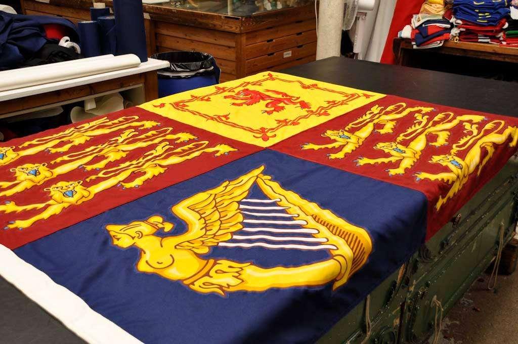 royal standard for downton abbey