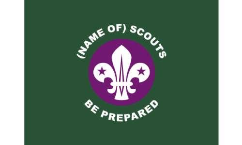 Scout Parade Flag