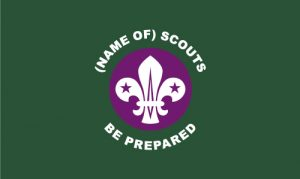 Scout Outdoor Quality Unit Flag