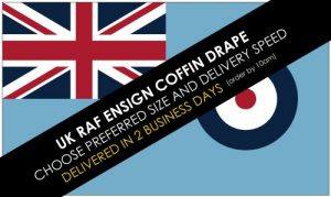 Buy RAF Ensign coffin drape