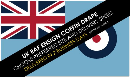Buy RAF Ensign coffin drape