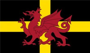 st david dragon flag