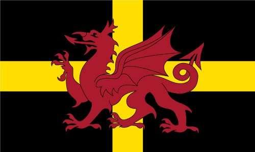 st david dragon flag
