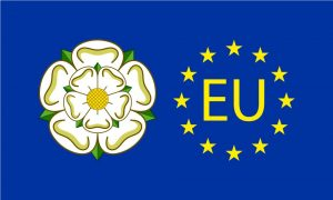 Yorkshire EU Flag