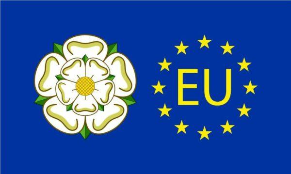Yorkshire EU Flag