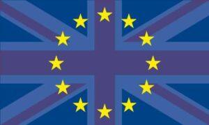 UK in EU Flag