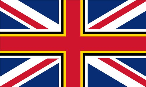 Union Jack with St David's Cross Outdoor Quality Flag