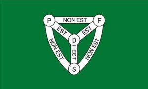 Trinity Parish Jersey Flag
