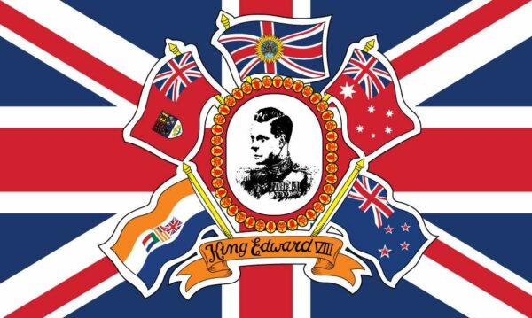 Edward VIII Coronation Flag
